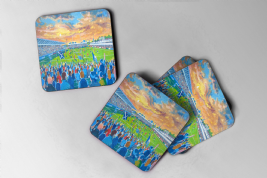 scotstoun, Coasters set of four
